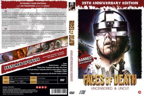 Faces of Death DVD Cover