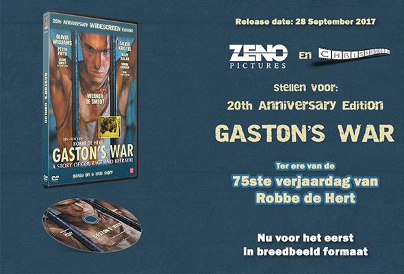 Gaston's War Ad