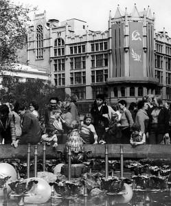 Moskva, 1. maj 1982