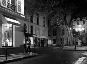 Lovers, Rue de Fürstenberg, Paris