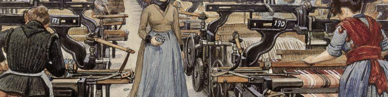 Kvindelige tekstilarbejdere