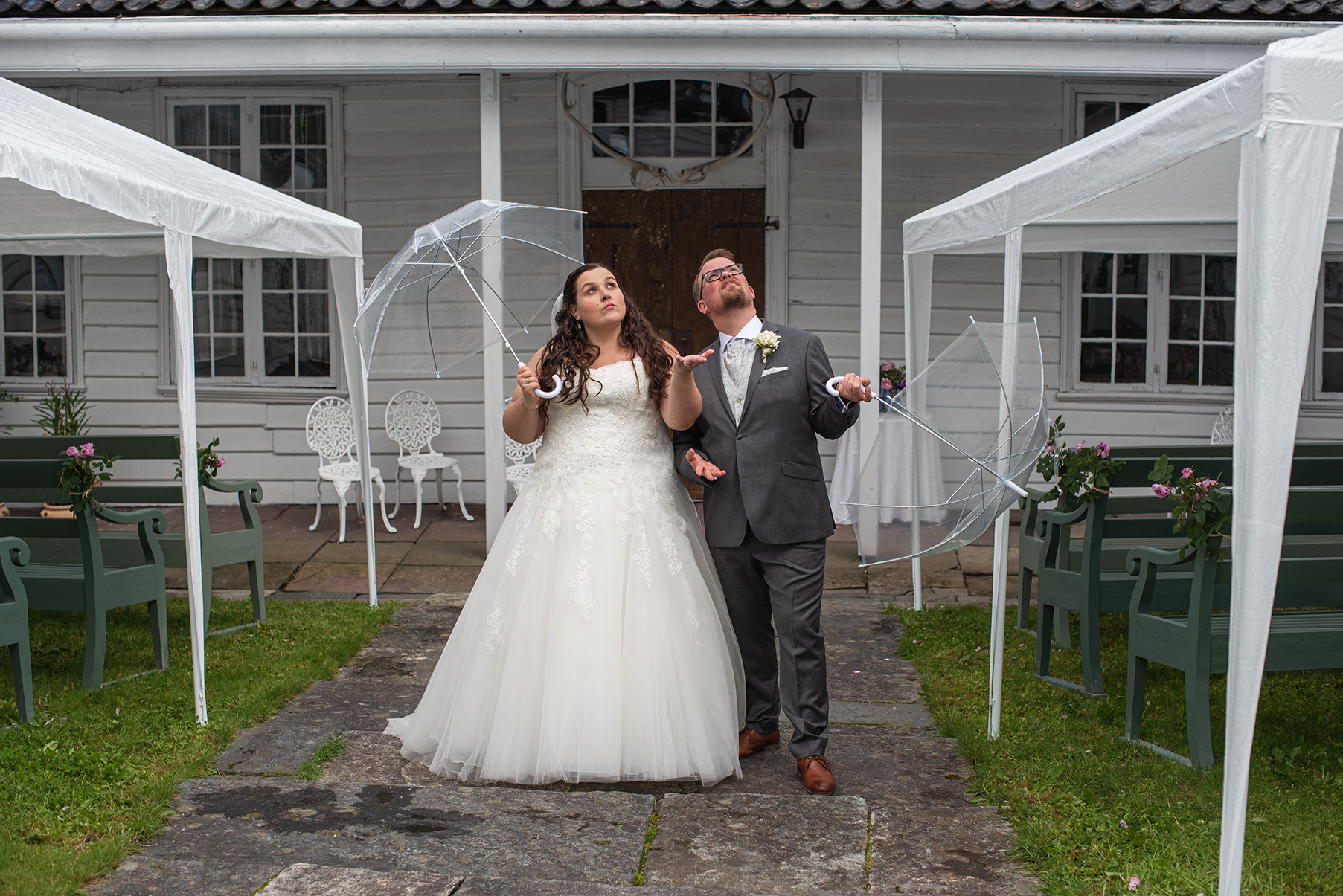 Bryllup på Damsgård Hovedgård
