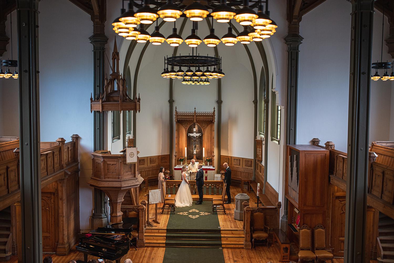 Bryllup i Sandviken Kirke