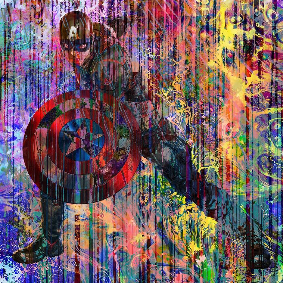 Christian Lange - Marvel & DC Super Heros - Captain America