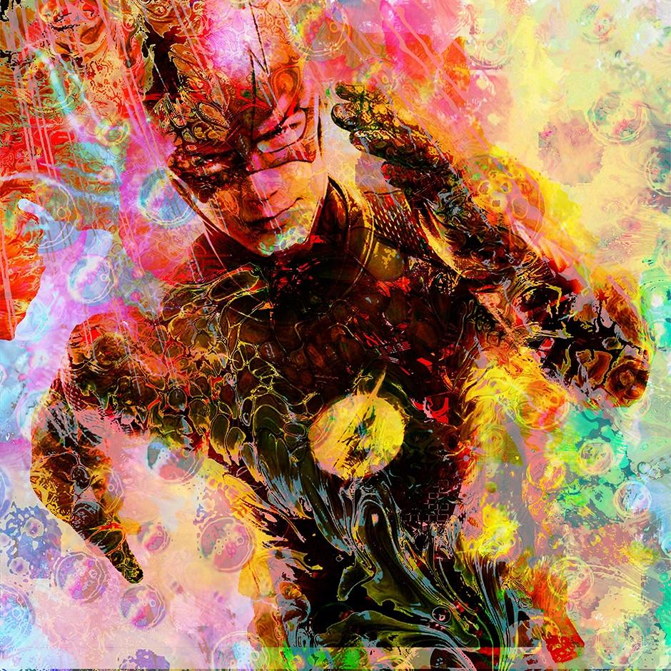 Christian Lange - Marvel & DC Super Heros - Flash