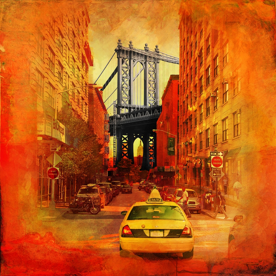 Christian Lange - OrangYork - Manhattan Bridge