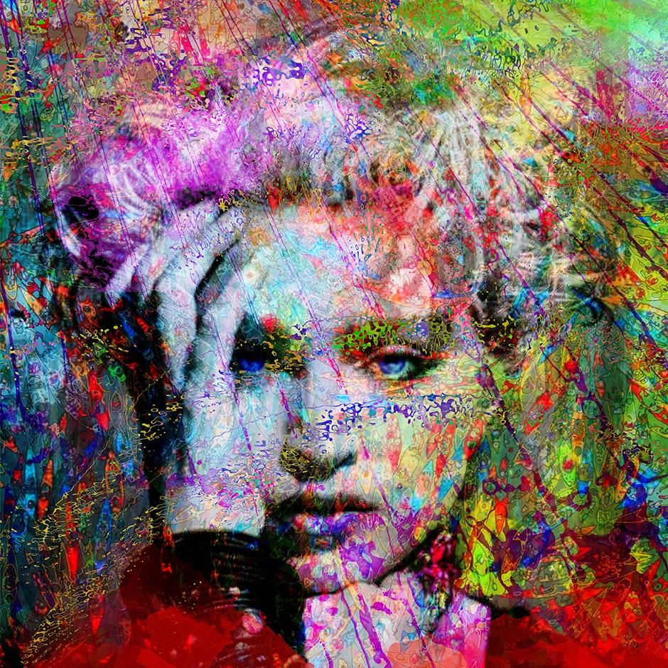 Christian Lange - Paréidolies - Madonna