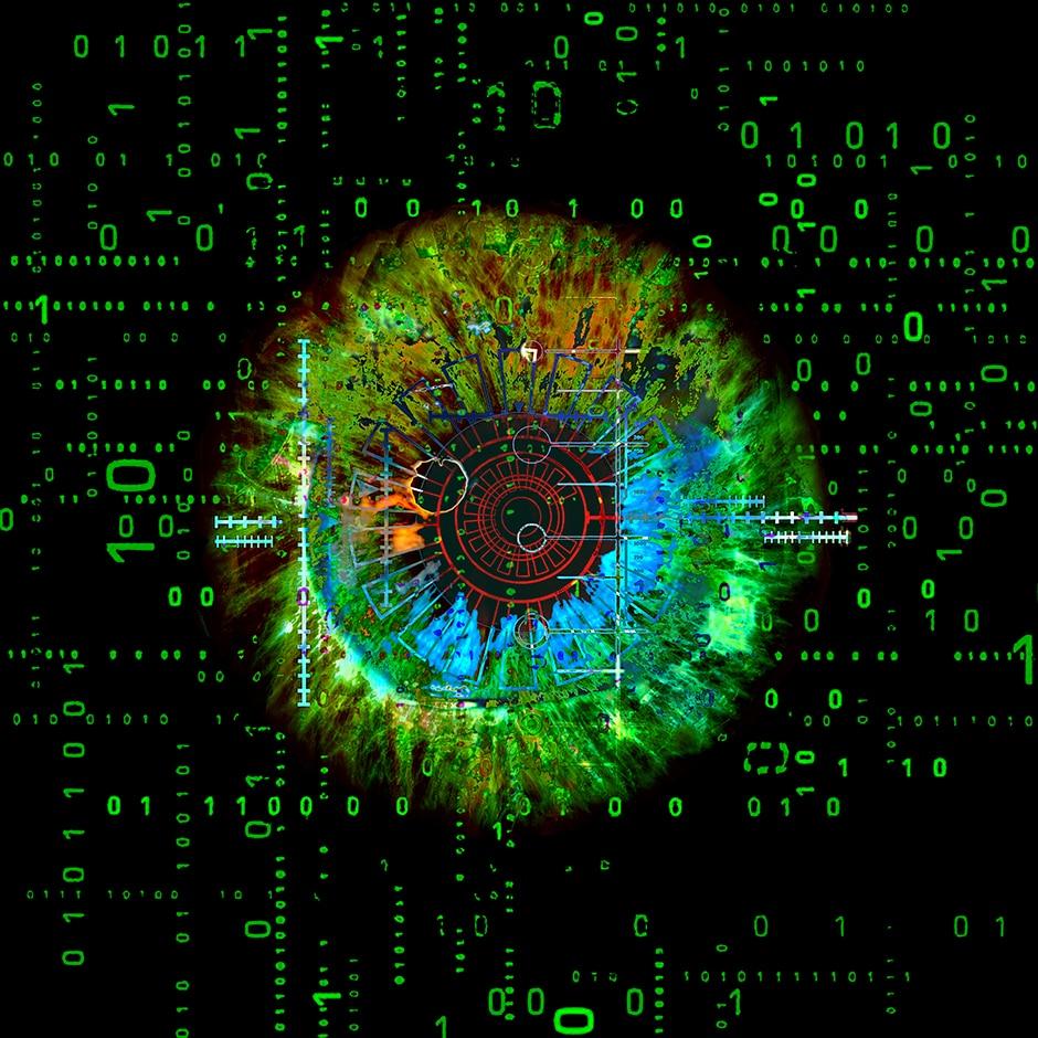 Christian Lange - Pop Art - Eyes Biometry