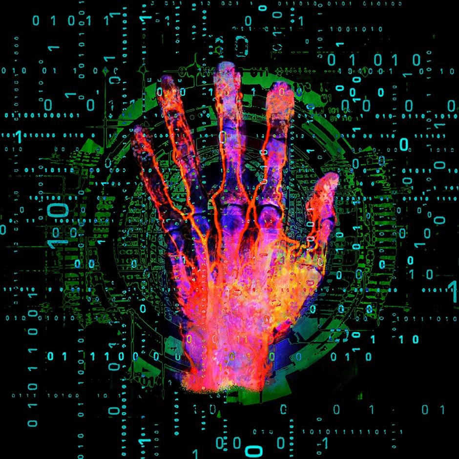 Christian Lange - Pop Art Hand Scanner
