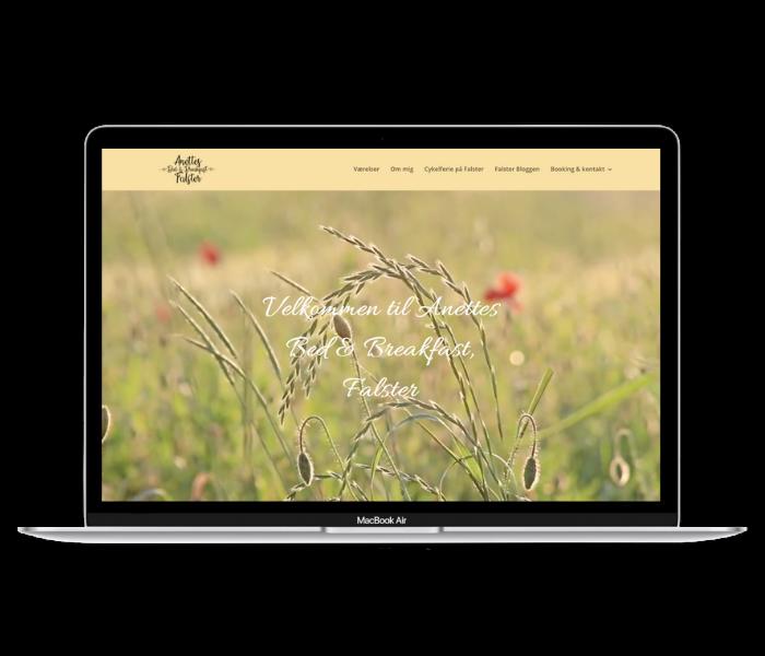 Anettes Bed&Breakfast Hjemmeside