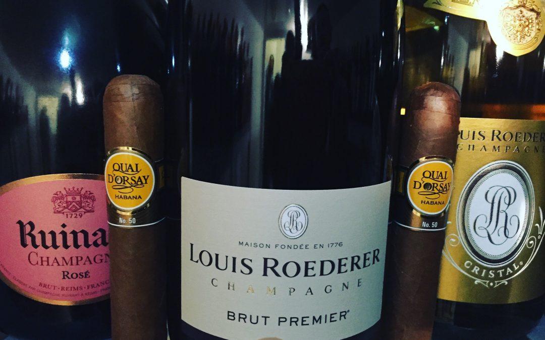 Champagne ? best pairing per i nostri sigari