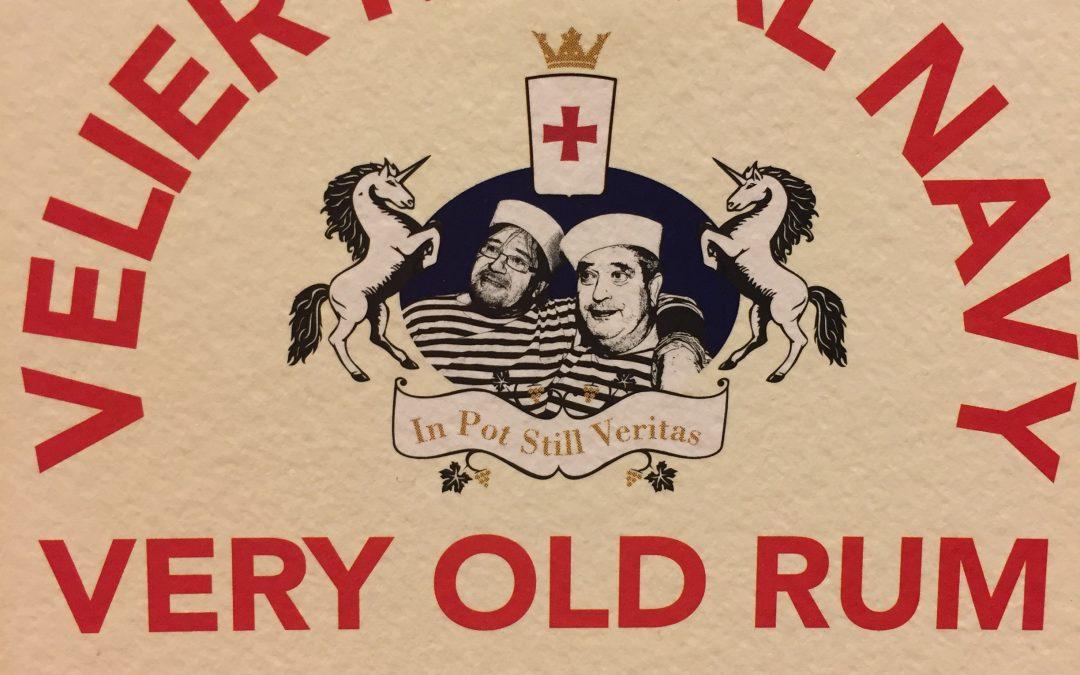 Velier Royal Navy ,Very Old rum -euro 140,00-