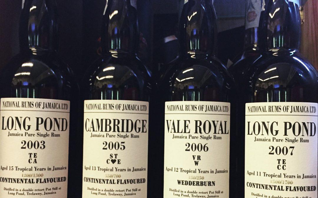 Long pond i potenti rum della Giamaica in Limited Edition