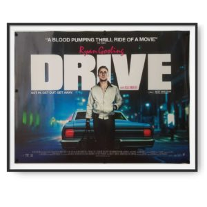Drive (2011) Original UK Quad Poster