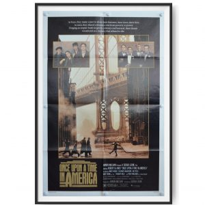 Once Upon a Time in America (1984) Original US One Sheet Poster