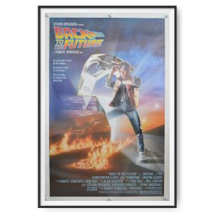 Back to the Future (1985) Original US One Sheet Poster