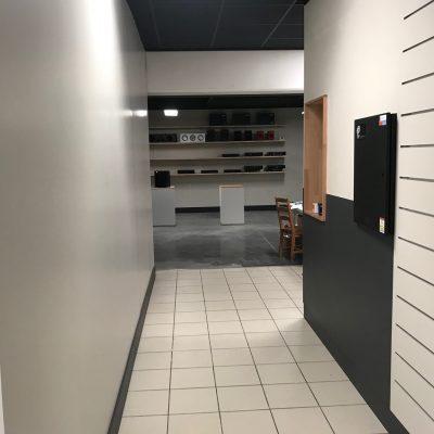 Showroom et réception