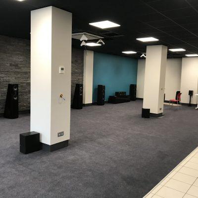 Entrée showroom