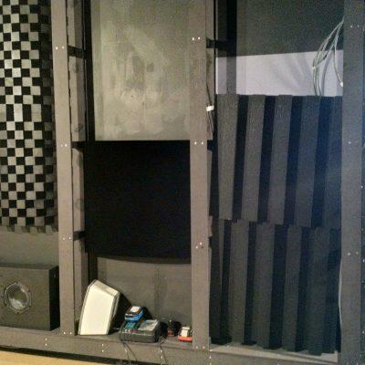 Placement des panneaux acoustiques