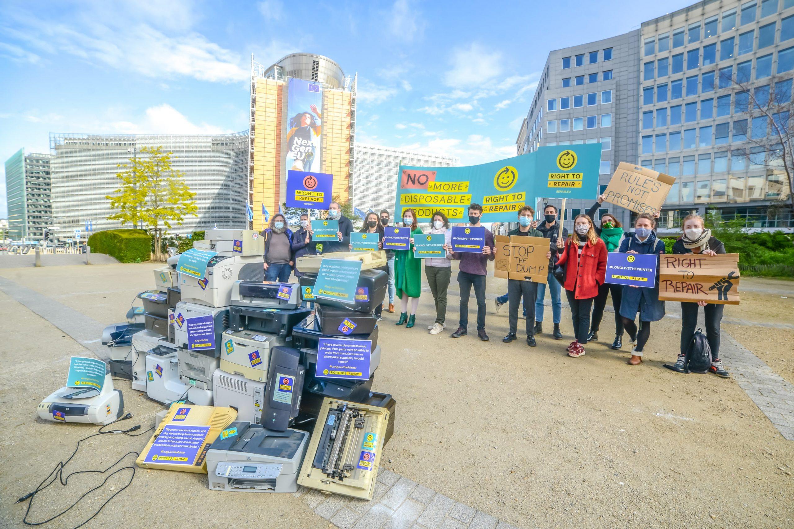 Circular.brussels sluit zich aan bij de Europese campagne 'Right To Repair'