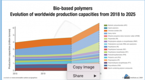 Growth rate for bio-based polymers far above overall polymer market growth (Bioplasticsmagazine.com)