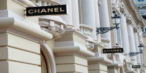 Chanel butikker på stribe