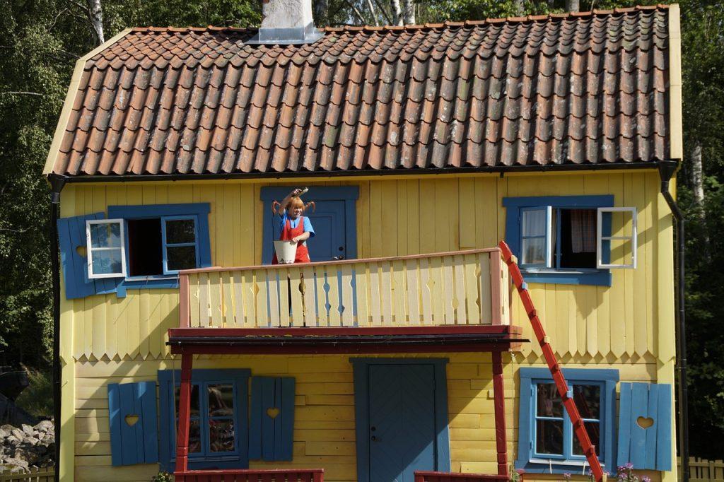 Pippi ved villavillakulla