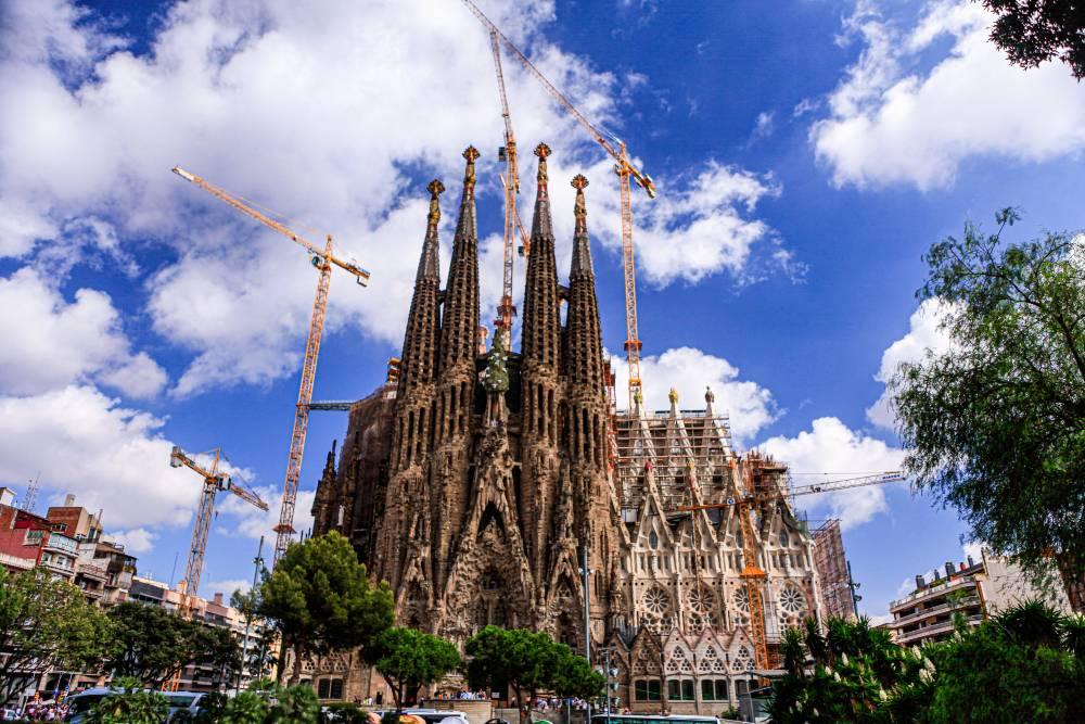 Sagrada Familia af Antonio Gaudi