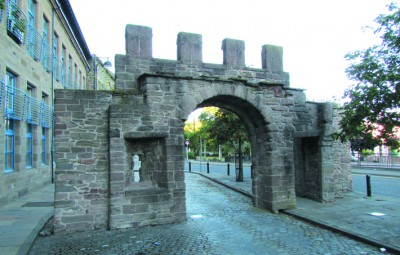 The Wishart Arch Dundee