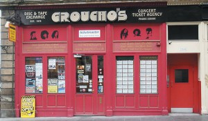 Groucho's Record Shop Dundee