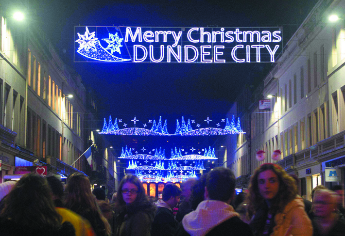 Dundee City Christmas Lights