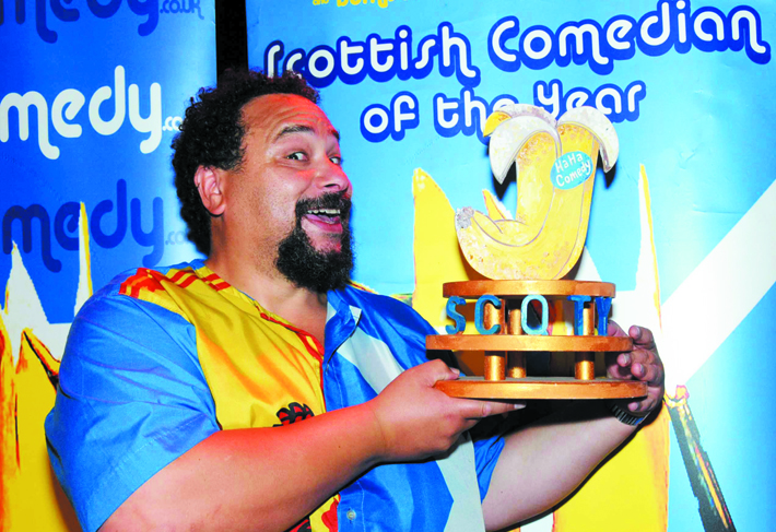 Bruce Fummey Scottish Comedian of the Year 2014