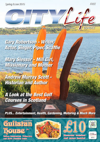City Life Dundee Issue 6 Cover