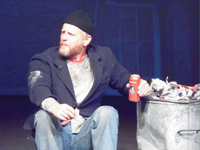 Gary Robertson as Tam in The Scaffies