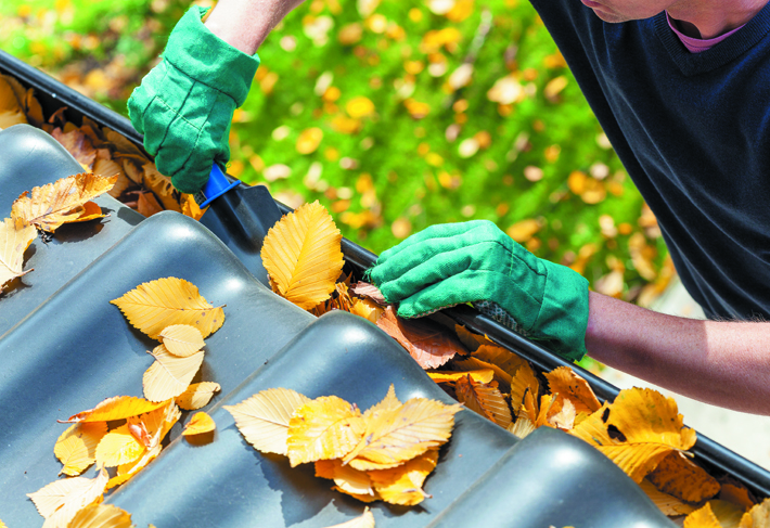 clearing-gutters
