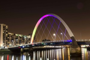 Glasgow's Squinty Bridge