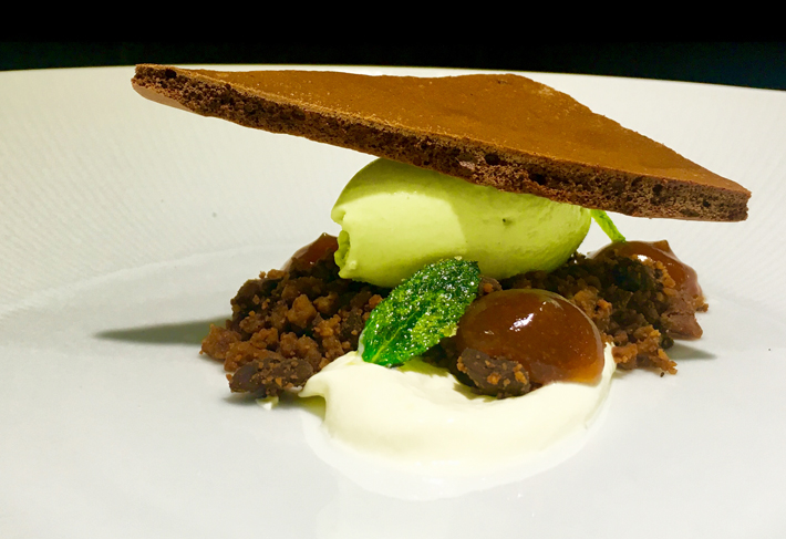 70% Chocolate - Mint, Cookie, Crème Fraîche