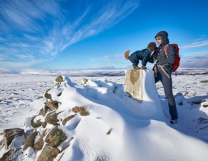 Summit of Geal-charn Mor