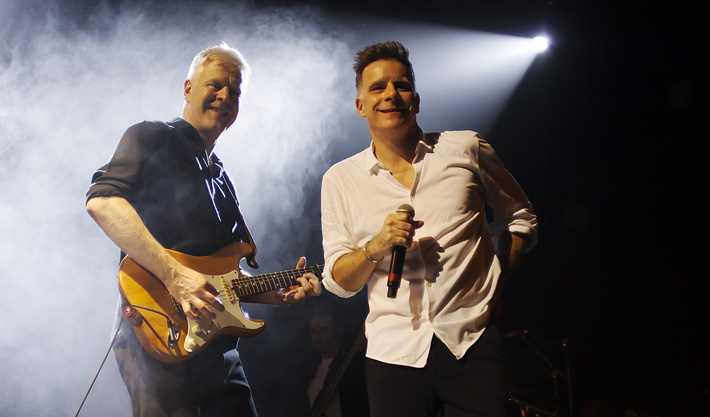 Gregor Philp and Ricky Ross -Deacon Blue