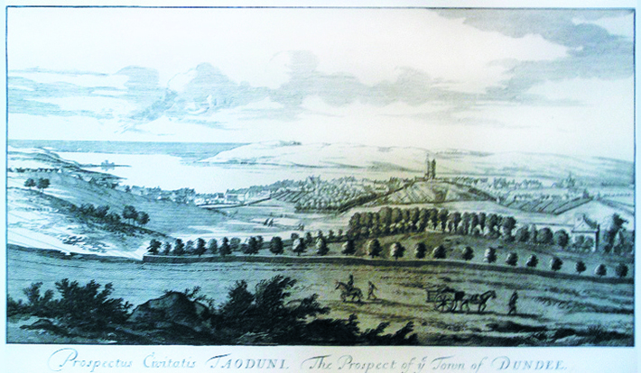 Dundee from the north