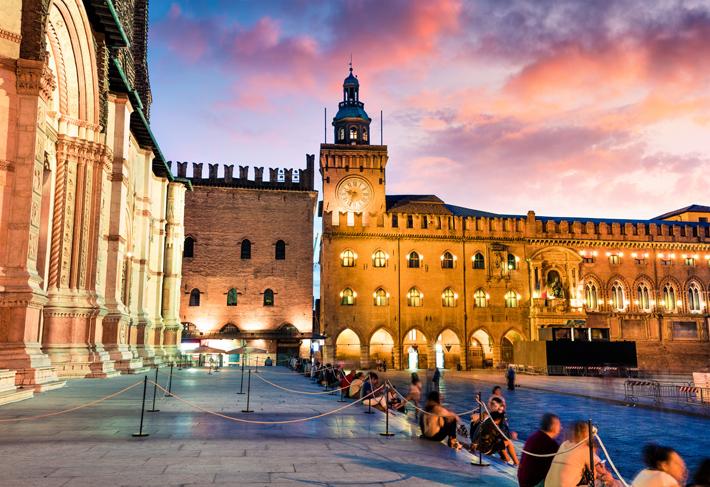 Main Square in Bologna