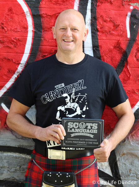 Gary Robertson - Scots Performer of the Year