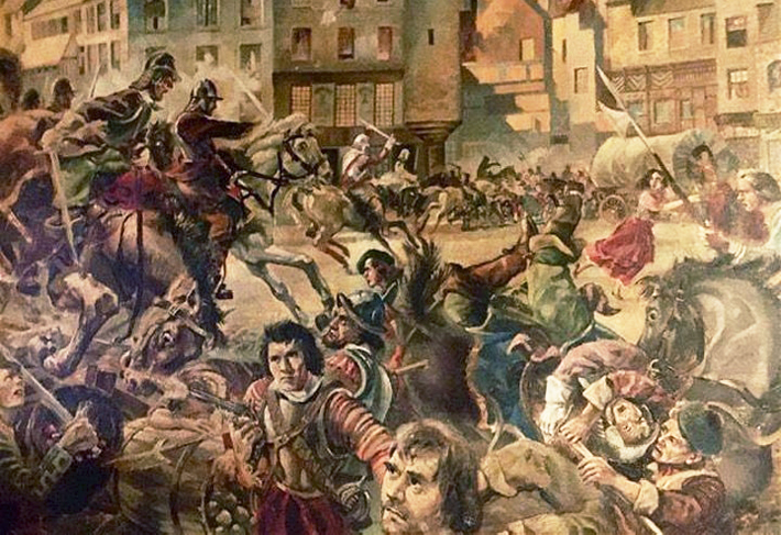 Monck's Siege of Dundee 1651