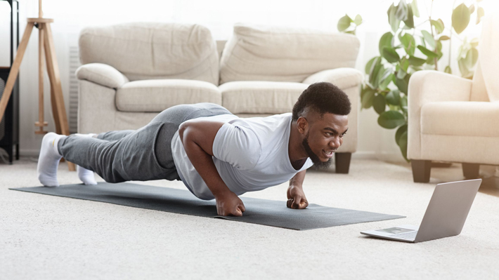 Online Excercising at Home