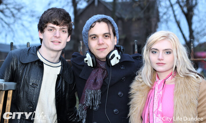 Khaled, Conor and Tara