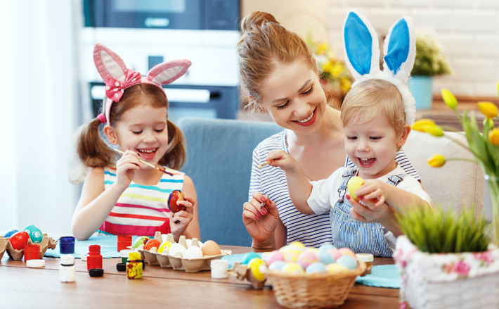 Get creative with the kids this Easter
