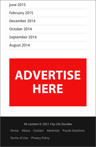 Online advertising mobile position 4