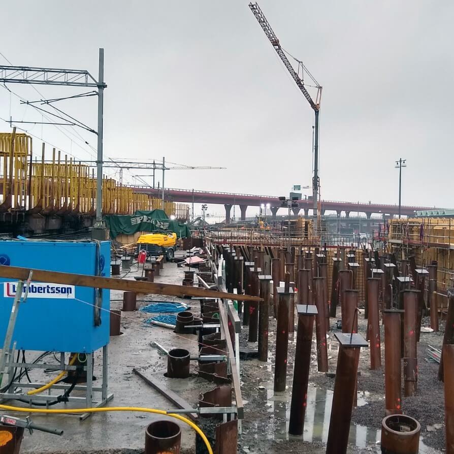 Olskroken Rail Bridges