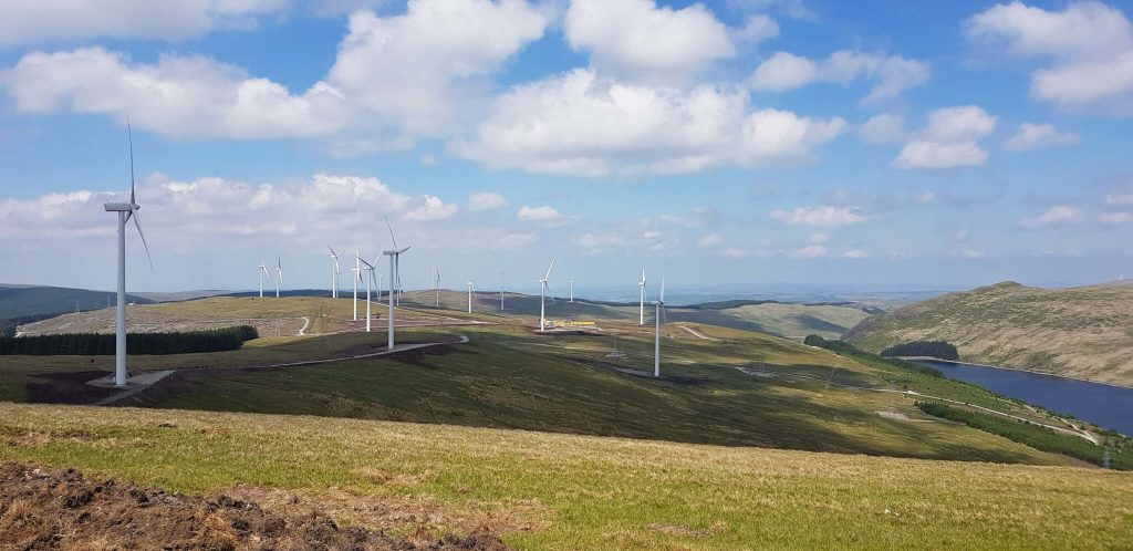 internet solutions for wind farms scotland, UK