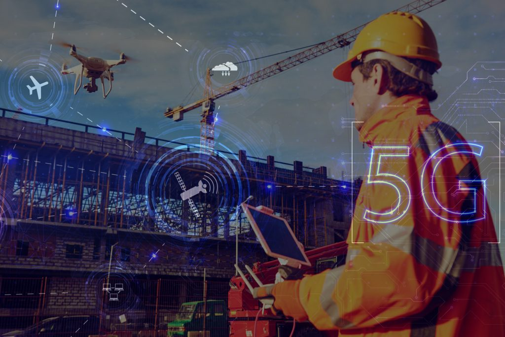 private 5g for construction